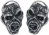Alchemy Rocks Iron Maiden Piece Of Mind Eddie Par de Pendientes