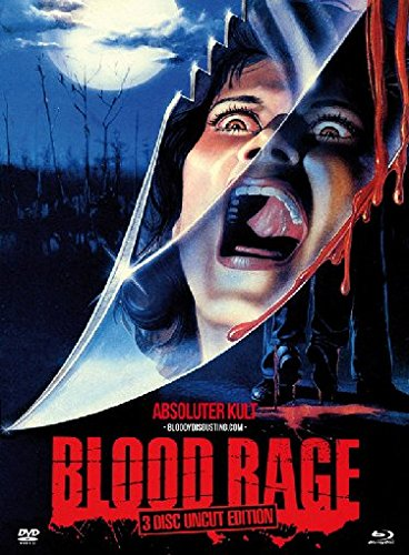 Blood Rage - Uncut/Mediabook (+ 2 DVDs) [Blu-ray] [Limited Edition]