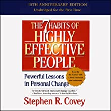 Best 7 habits of highly effective people audible Reviews
