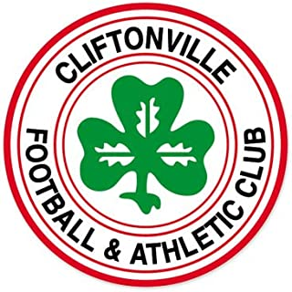 Cliftonville FC - Northern Ireland Football Soccer Futbol - Car Sticker - 4