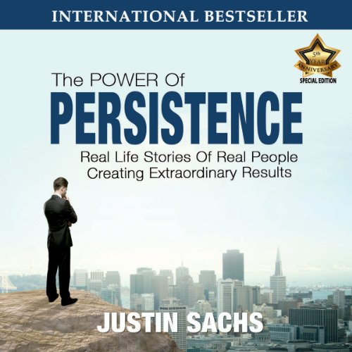 Power of Persistence audiobook cover art
