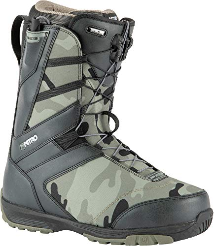 Nitro Herren Anthem TLS Boot´21 Snowboardboot, Camo Black, 250