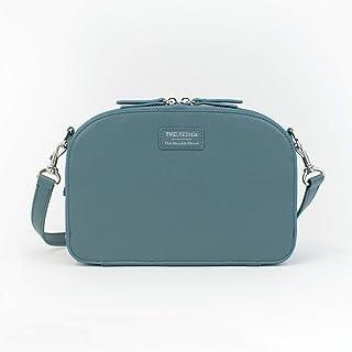 TWELVElittle Sensible Clutch - Diaper Clutch with Shoulder Strap, Vegan Leather Diaper Bag, Diaper Clutch, Wipe Case Included
