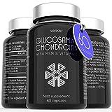 Glucosamine and Chondroitin MSM Capsules - High Strength Complex with Glucosamine, Chondroitin, MSM