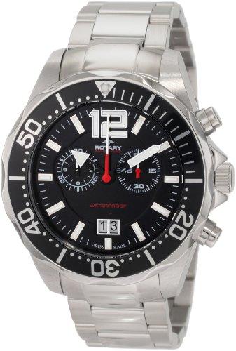 Rotary Men's AGB90050/C/04 Aquaspeed Sports Chronograph Bracelet Swiss-Made Watch