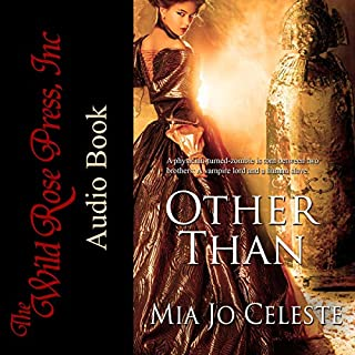 Other Than                   By:                                                                                                                                 Mia Jo Celeste                               Narrated by:                                                                                                                                 Keira Stevens                      Length: 11 hrs and 26 mins     7 ratings     Overall 4.4