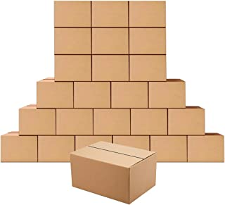 EdenseeLake Shipping Boxes 8 x 6 x 4 Inches Small Cardboard Boxes, 25 Pack