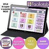 FACILOTAB Tablette L Rubis avec étui - WiFi - 32 Go - Android 8 - Marque Huawei -...