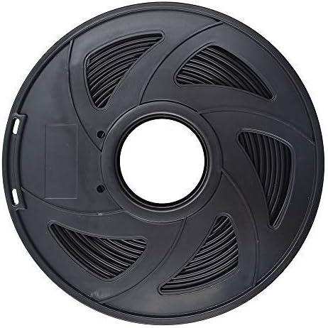 3D Printer Filament - 1KG(2.2lb) 1.75mm / 3 mm, Dimensional Accuracy PLA Multiple Color (Black,3mm)
