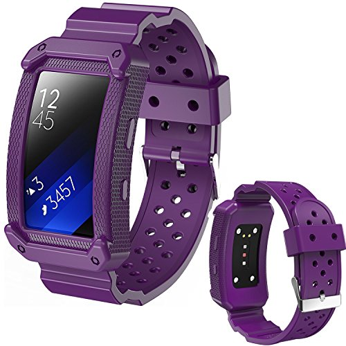 Top samsung gear fit2 band purple for 2020