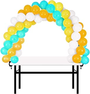12ft Table Balloon Arch Kit Adjustable Balloon Column Stand for Baby Shower, Birthday, Wedding, Christmas, and 2019 Graduation Party Decoration