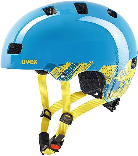 Uvex Unisex Jugend, kid 3 Fahrradhelm, blackout blue, 51-55 cm