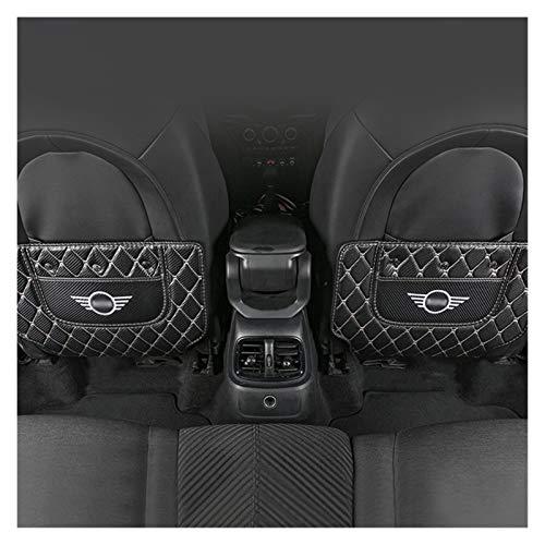 CJWY Für Mini F54 F55 F60 R60 Autozubehör Innendekoration Styling Auto Rücksitz Anti-Kick Pad Verschleißfeste Schutzmatte