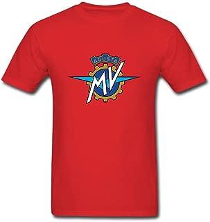 Fashion Design Motorcycles Logo MV Agusta Motor Men's T-Shirt