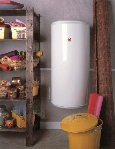 Atlantic - Calentador de agua de 150 litros, vertical, monofásico de 1650 W