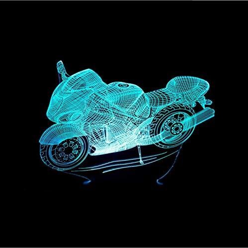 Jiushixw 3D acryl nachtlampje met afstandsbediening van kleur veranderende tafellamp woonkamer luidspreker hoge voet lamp jong gevormde tafellamp veranderen baby slaaplamp vakantie decoratie geschenk