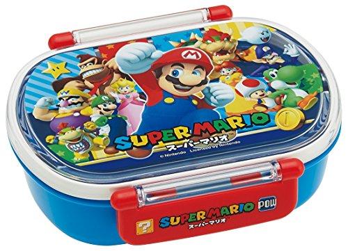 Skater Lunch Box 360ml Lunch Box Super Mario 17 Made in Japan QA2BA