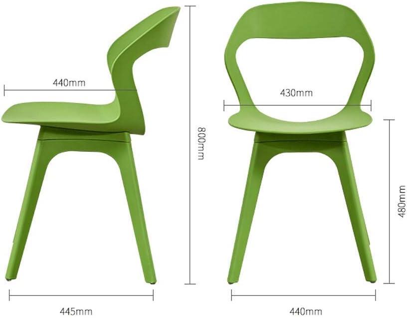 GY-C Chaise de loisirs Salle à manger Chaise moderne Simple Chaise paresseuse Blanc Mode Bureau Chaise Tabouret Dos hg ' / Rouge Bleu