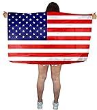 Sonia Originelli Fan Poncho Umhang Flagge Fußball WM Länder Cape Farbe USA