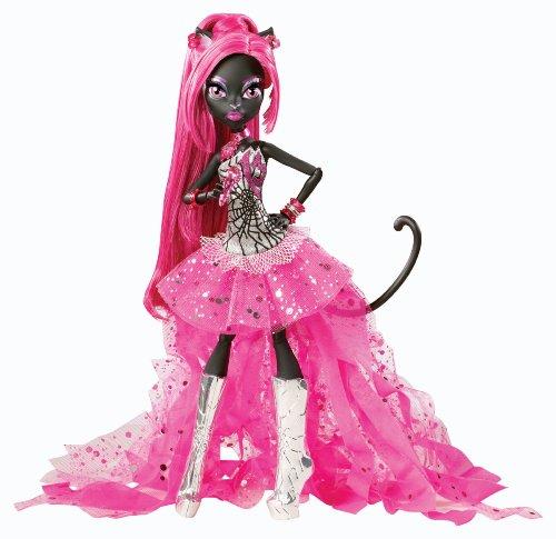 Mattel Monster High BGG74 -  Catty Noir, Tochter einer Werkatze, Puppe