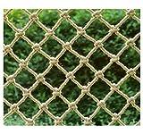XCYYBB Filet en Corde De Chanvre pour l'escalade Et Filet pour Hamac pour Oiseaux Enfants Plein Air Barriere de securite escalier Filet D'escalier Sécurisé-Corde De Chanvre 1x3m(3.3x10ft)