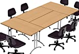 TeamWORKTables 2916 Compact Space Maximum Collaboration Meeting Seminar Conference Tables,...