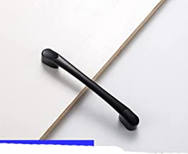Zwarte deurgrepen voor meubelkast keuken handgrepen lade kast trekt kast knoppen-beige, aluminiumlegering, 2.2cm