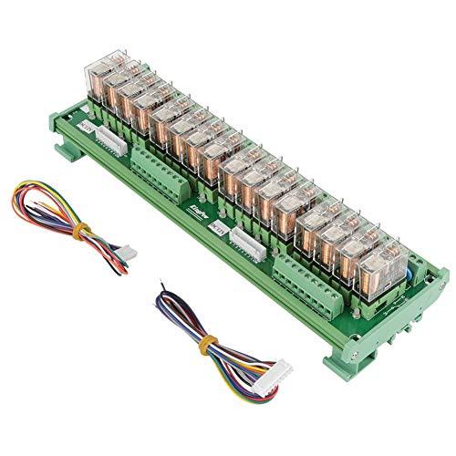 BINGFANG-W Driver del Motore 16 canali Modulo relè for PLC Bordo dell'amplificatore/Guida DIN Installazione 12V Stampante 3D