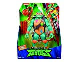 Giochi Preziosi Teenage Mutant Ninja, Turtles Rise Off, Personaggi Giganti 30 cm con Suoni, Michelangelo Popup Attack