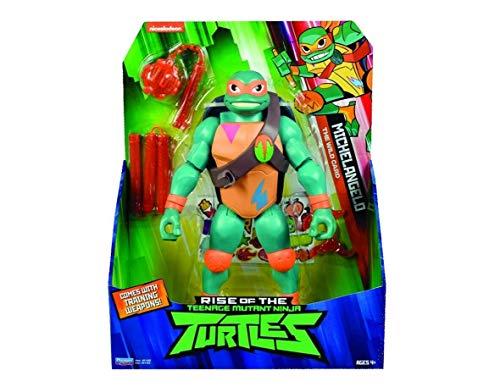 Dalla serie TV Personaggi alti 30 cm 2 armi e 2 stelle Ninja incluse 13 punti di articolazione Nuovi look e colori