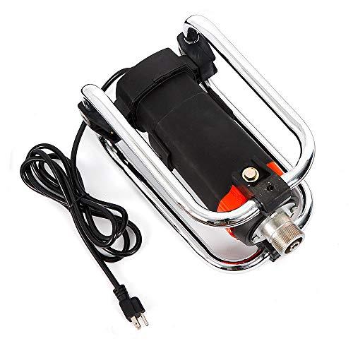1.1Kw 16000 Rpm Portable Aluminum Electric Handheld Concrete Vibrator Motor 4.5M Poker Remove Air Bubbles 1.5' Diameter Head Us Stock