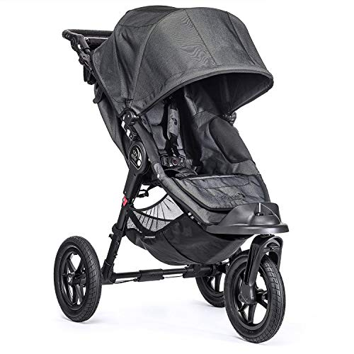Baby Jogger City Elite Kinderwagen, Charcoal Schwarz