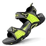 Sandalias para niño Sandalias Deportivas Zapatillas de Trekking y Senderismo Unisex Niños(E Verde,39 EU)