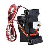 Kit de extrusora Premium para impresora 3d anet A6i3. Trajes para ABS, PLA de 1.75mm filamento, boquilla 0.4mm. La tensión de 12V. Longitud del cable principal de 1m.