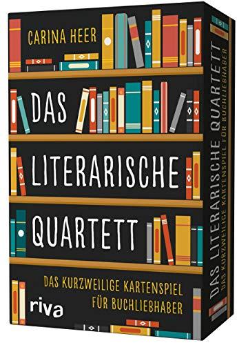 Das literarische Quartett: Das kurzweilige Kartenspiel für Buchliebhaber