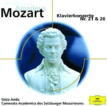 """Mozart: Klavierkonzerte Nr.21 K.467 & Nr.26 K.537 """"Krönungskonzert"""""""