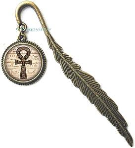 Ankh Bookmark,Egyptian Ankh,Egyptian Symbol,Power of Life Bookmark,Egyptian Bookmark,HO0E4
