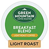 Green Mountain Coffee Roasters Breakfast Blend, Single-Serve Keurig K-Cup Pods, Light Roast Coffee, 32 Count