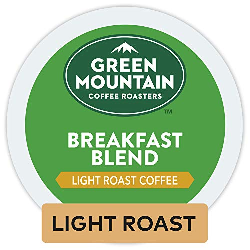 Green Mountain Coffee Roasters Breakfast Blend, Single-Serve Keurig...
