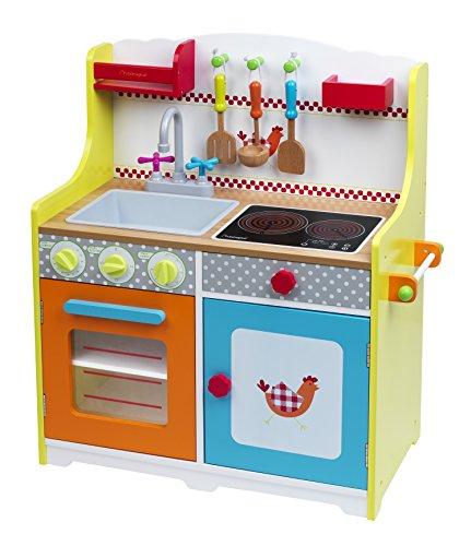 Imaginarium- Cocinita de Madera con Accesorios, Fresh Farm Grand Chef Kitchen (88663)