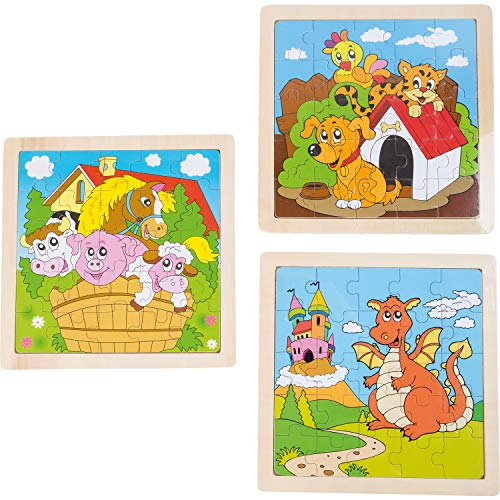Small Foot - 10188 - Puzzle-Cadre Ferme