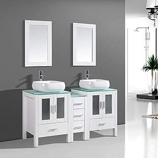 Best bathroom mirror vanity cabinet Reviews