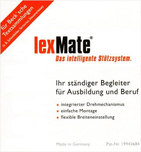 lexMate. Buchstütze (breite Variante): Buchstütze für die Loseblattsammlungen des Beck-Verlags