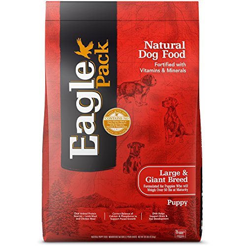 Eagle Pack Natural Dry Dog Food Large Breed Puppy Food Lamb, Chicken u0026 Fish