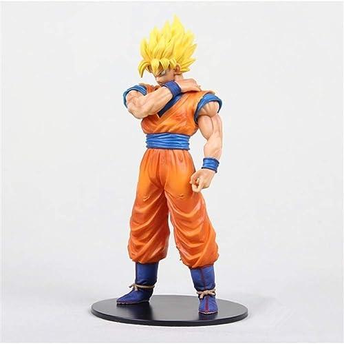 Gjrff Dragon Ball Goku Figur Saiyajin Modell Dekoration Statue Anime
