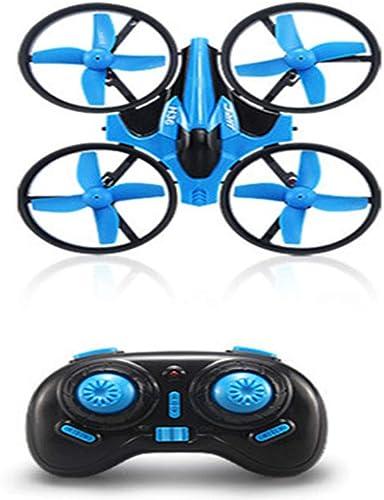 WANGKM Drone Télécomhommede Avion Avion à Quatre Axes Mini2.4g Mode sans tête Un Bouton Retourner Modèle Tumbling Six Axes Gyroscope Mini Toy