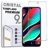 REY Protector de Pantalla para WIKO VIEW3 Pro - View 3 Pro, Cristal Vidrio Templado Premium