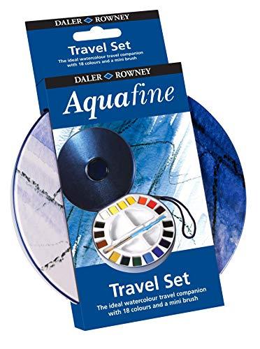 Daler-Rowney Half Pan Travel Tin, Assorted Colors