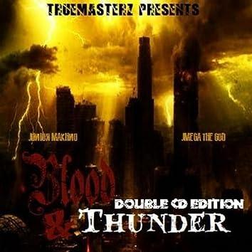 "JMega & Jr Makhno ""Blood & Thunder"" (2LP)"