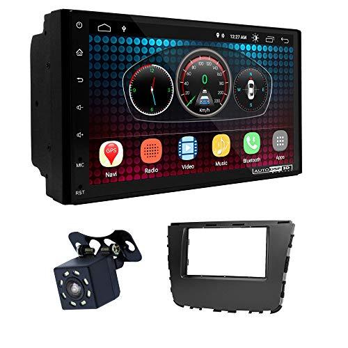 UGAR EX6 7' Android 6.0 DSP Navigazione GPS per Autoradio + 11-789 Kit di montaggio compatibile con SSANG Yong Rexton 2017+; Musso 2018+